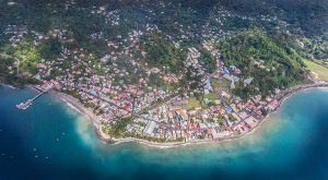 Gouyave Town by Damion Jacob